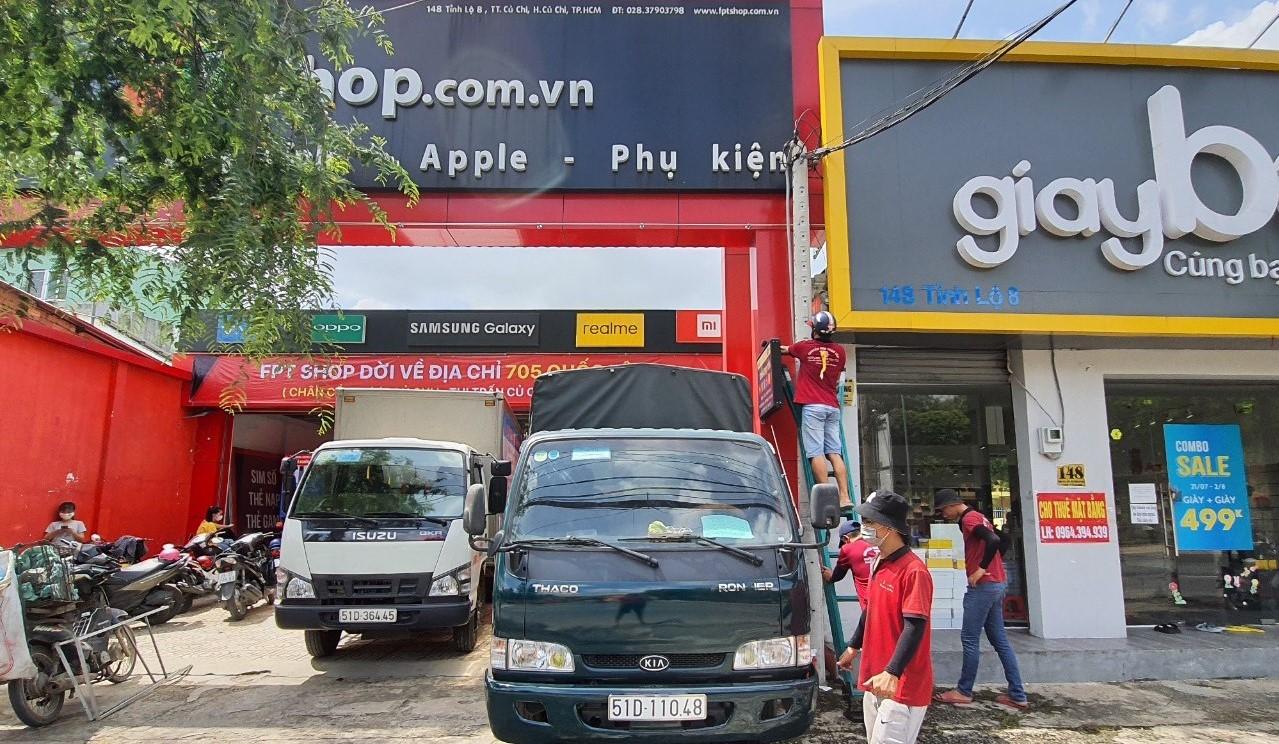 Dịch vụ taxi tải chở hàng